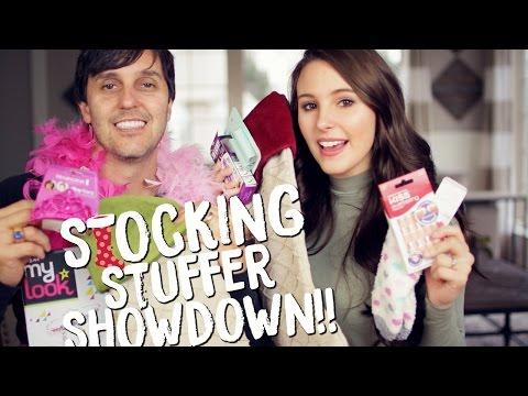 Dad vs. Daughter Stocking Stuffer Showdown!! Holiday Gift Ideas 2016!