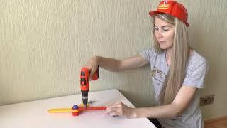 Kids Toys | Инструменты для детей - Детская Игрушечная Дрель - Обзор и Распаковка