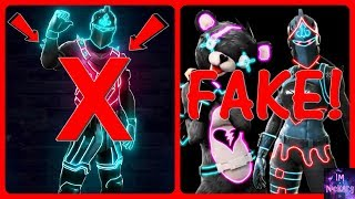"""NEON Skin"" & ""NEO LEGENDS Skins Pack/ Bundle"" EXPLAINED! (Fortnite Rare & Fortnite Bruh) *FAKE*"