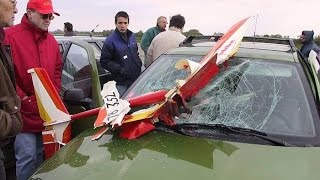 RC Plane Funny Crashes and Fails