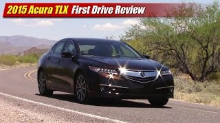 2015 Acura TLX First Drive Review