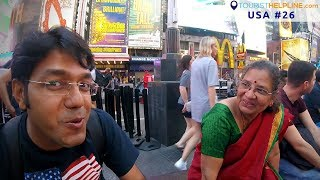 Times Square, New York | See whom I met !!