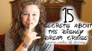 Nine Weeks of Disney - Week Three | 15 Secrets of the Disney Dream