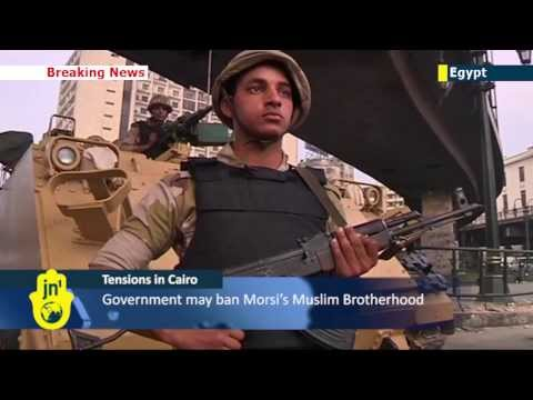 Tension in Cairo: Security tight at al-Fattah mosque as Egyptian army seeks to re-establish order