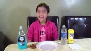 Simple Science Experiment At Home [ Do It Yourself ] : Power of Detergent
