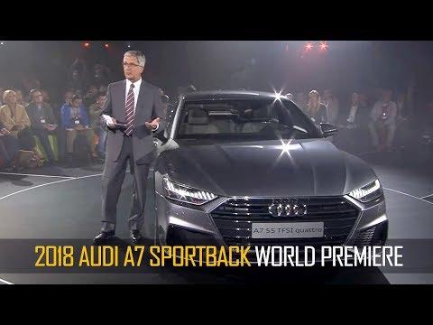 2018 Audi A7 Sportback World Premiere