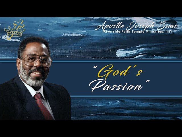 Audio Sermond - God's Passion - Psalm 42; Psalm 119:10; Isaiah 10:27