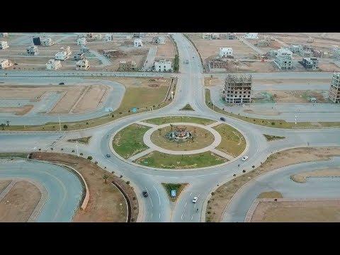 Bahria Town Overseas Block Phase 8 Rawalpindi Drone Footage