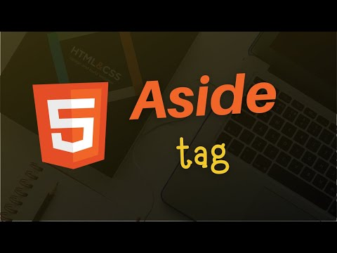 Aside Tag | HTML 5 Tutorial in Hindi thumbnail