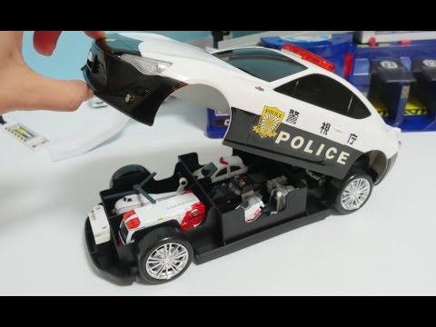 Big Boy Toys Police : Big police car toy toyota police station toys video for