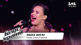 "Mіla Nіtіch - ""Look What I Found"" - The Voice Show Season 11 - Blind Audition"