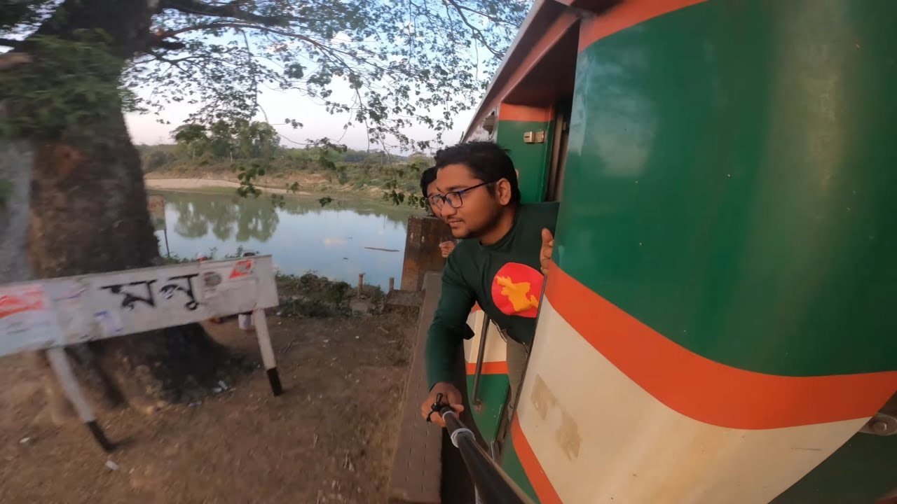 Journey By Parabot express Train !!!