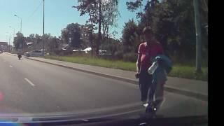Ярославское шоссе. Подстава не получилась.