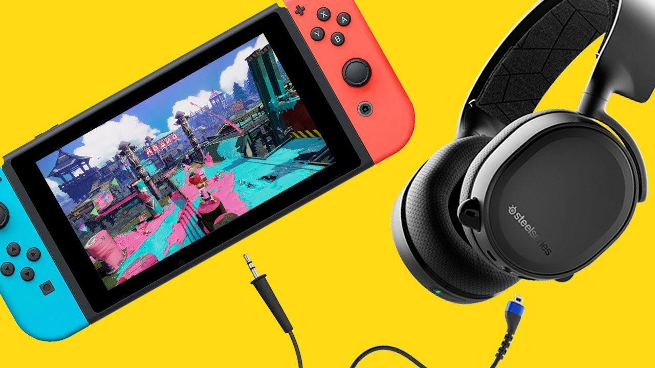 9deff49c582 These Nintendo Switch Headphones Solve Your Online Problems - Up at ...