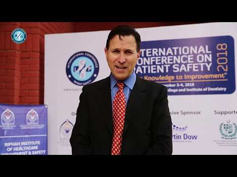 Prof. Dr. Paul Barach Interveiw  on ICPS 3rd conference by RIHIS