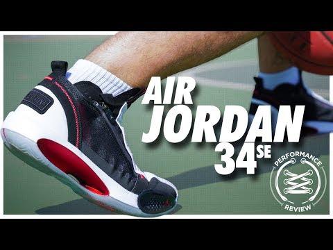 Air Jordan 34 SE Performance Review