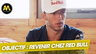 Red Bull : Pierre Gasly veut une seconde chance