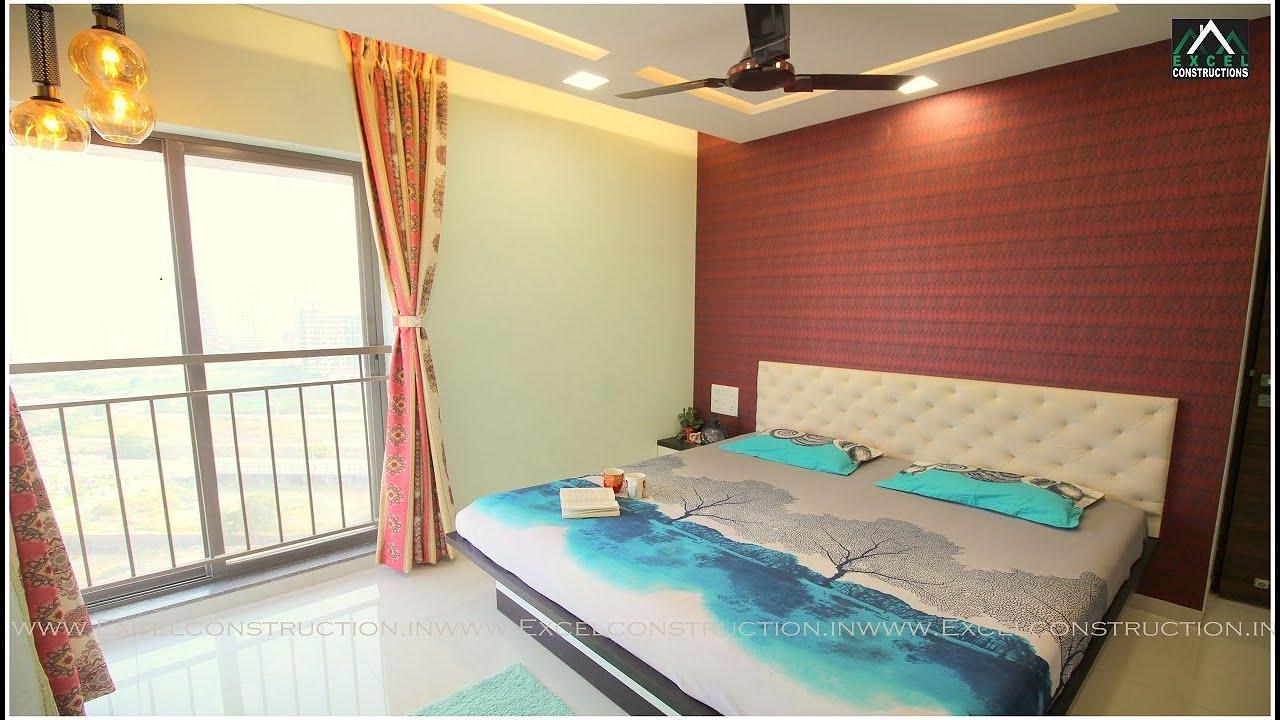 Mr Mainak Sinha S 2 Bhk House Interior Design Siddhashila Eela Punawale I Pune Youtube