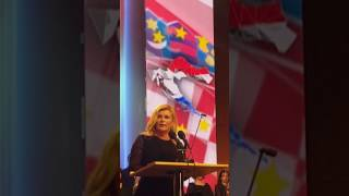 KD V. Lisinski - Govor hrvatske Predsjednice