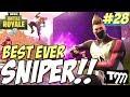 Fortnite Battle Royale - BEST EVER SNIPER #28 (Best Fortnite Kills)