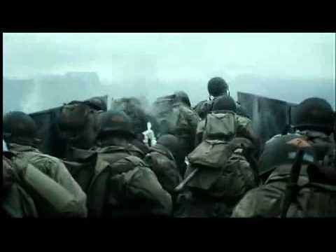 Saving Private Ryan  Omaha Beach Scene  YouTube