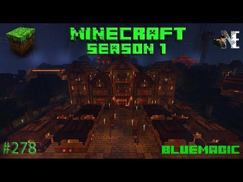 WIE MACHT DER ZUG [Bluemagic] - Minecraft Season [HD] #278