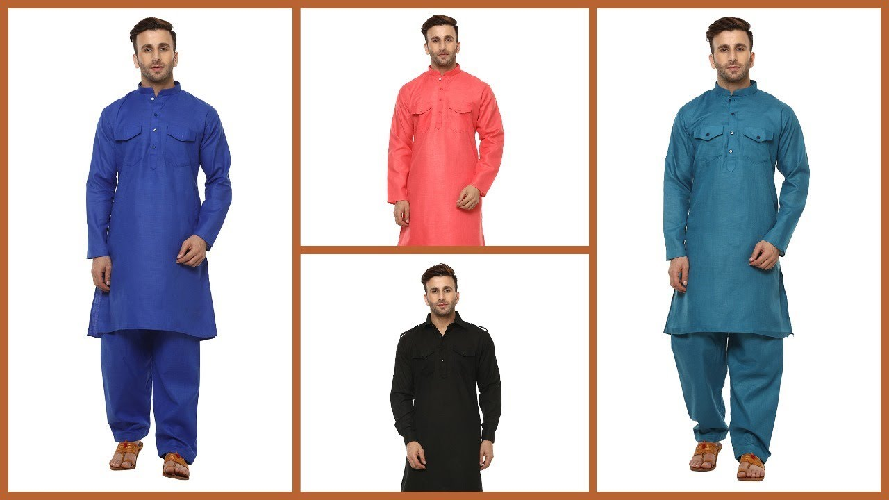5b7bf28707 Latest Eid Collection Pathani Suits For Indian Men - YouTube