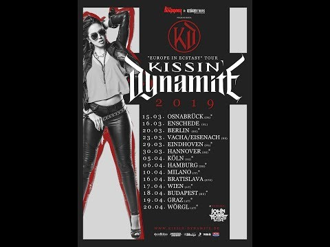 """Kissin' Dynamite release  new single/video for """"Heart Of Stone"""" tour w/ Powerwolf"""