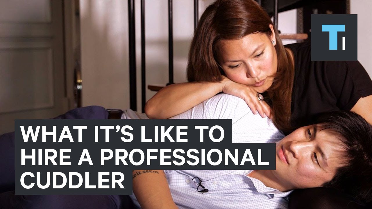 What its really being professional cuddler