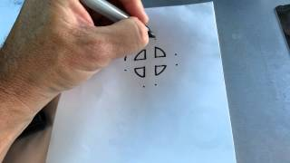 How To Draw A Sun Cross And Celtic Cross