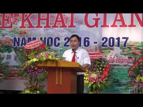 Lễ khai giảng năm học của Trường THPT Khoái Châu  (2016 - 2017)