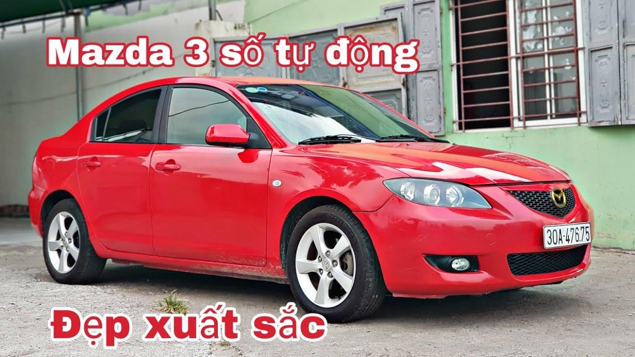Mazda 3 sx 2005, 1.6 A/T - xe đẹp xuất sắc, nguyên bản | giá chỉ 245tr | 0966680444
