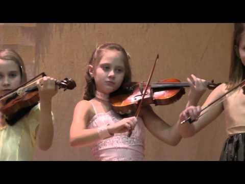 Стефания Шевцова  Скрипка  10 лет  г  Могилев  2014  Гамма джаз 1