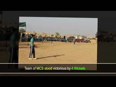 Cricket Match organized by Frontier Corps Balochistan at Sui