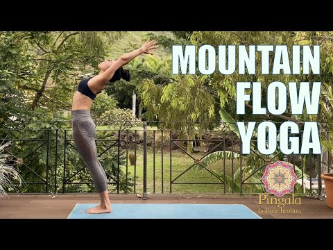 Mountain Slow Flow Yoga Sequence