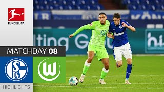#s04wob | highlights from matchday 8!► sub now: https://redirect.bundesliga.com/_bwcs watch the bundesliga of fc schalke 04 vs. vfl wolfsburg from...
