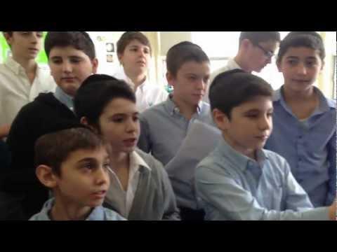 The Ribono Shel Olam project with Yeshiva Yavne