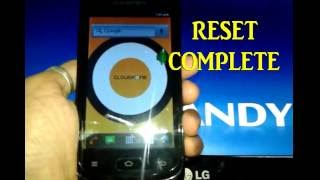 How To Reset A Cloudfone Ice 401e by Dennis Padul