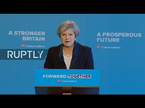 LIVE: Conservatives unveil manifesto ahead of UK election