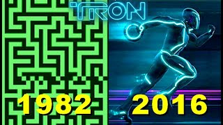 Evolution of Tron Games 1982-2016