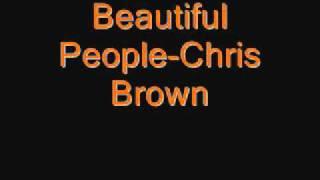 Beautiful People- Chris Brown Feat Benny Benassi (clean)