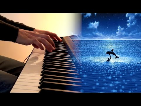"Eric Serra - The big blue (Le grand bleu) OST - ""Water work"" (extract) piano cover"