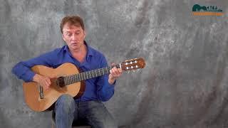 Басовые ходы в аккомпанементе для гитары. Урок от Юрия Миргородского