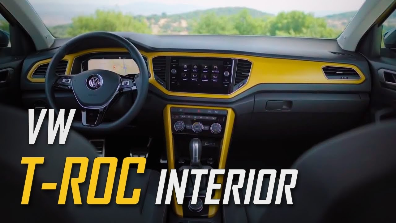 New Volkswagen T Roc Interior Design Vw T Roc Interior