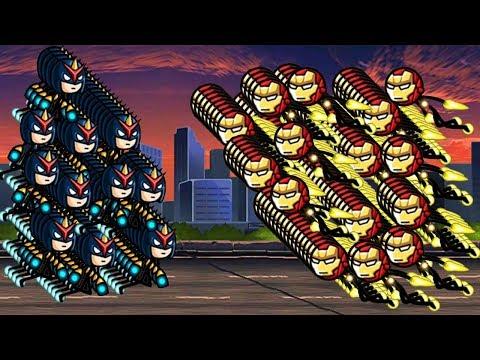 HERO WARS: Super Stickman Defense  Sonic VS Droid MK2   GamePlay Walkthrough 2018 (Part 6)