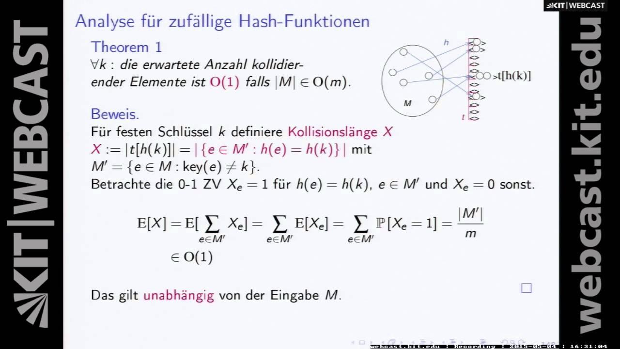 7: Algorithmen 1, Vorlesung, SS2015