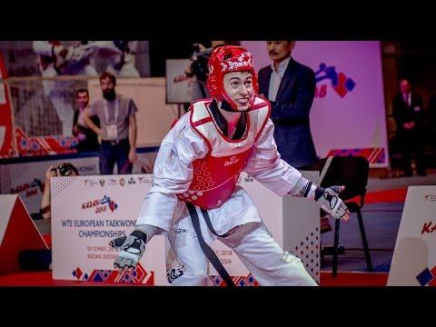 Jesus Tortosa (ESP) Vs Mikhail Artamonov (RUS). European Taekwondo Championships Kazan-2018