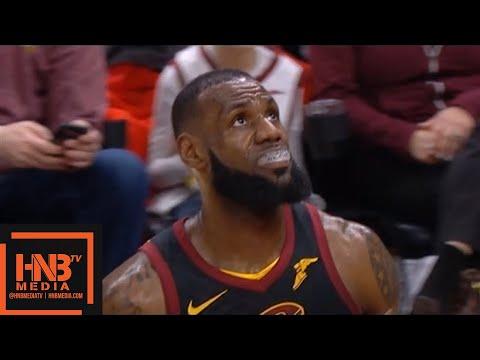 Cleveland Cavaliers vs Washington Wizards 1st Qtr Highlights / Feb 22 / 2017-18 NBA Season