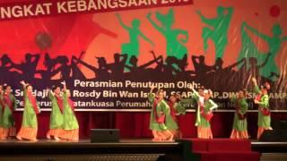 Tarian Rampaian Traditional Pahang