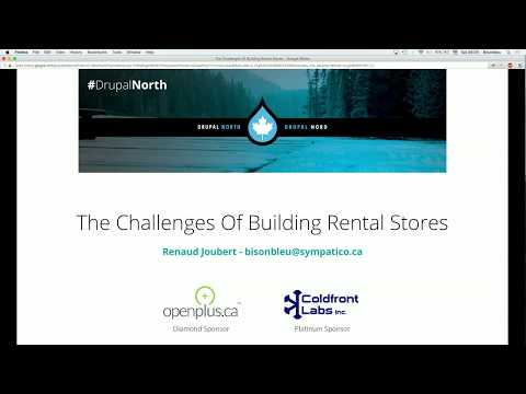 Drupal Commerce: exploring the challenges of building rental stores